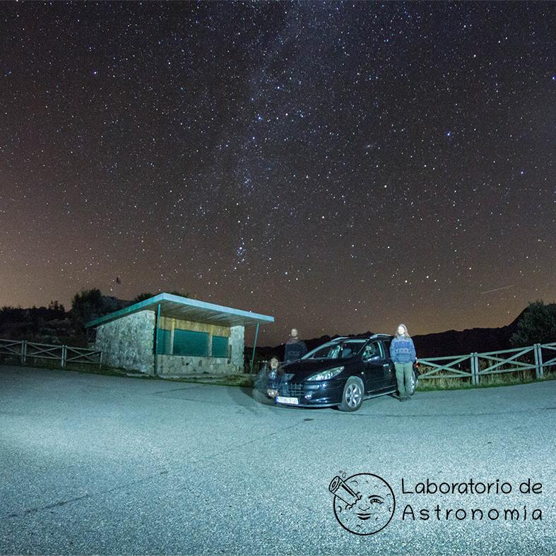 retrato astronomico coche